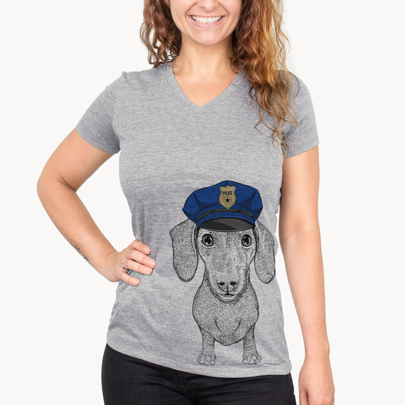 Ernie the Mini Dachshund  - Police Collection