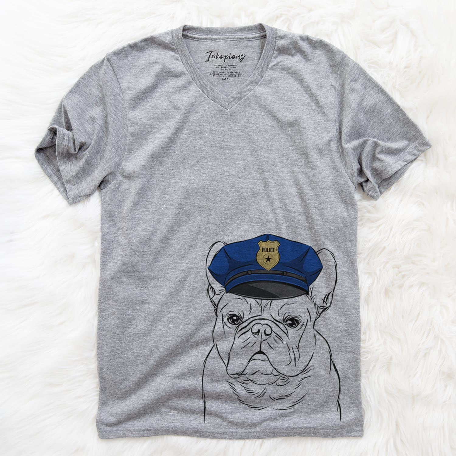 Fudge the French Bulldog  - Police Collection