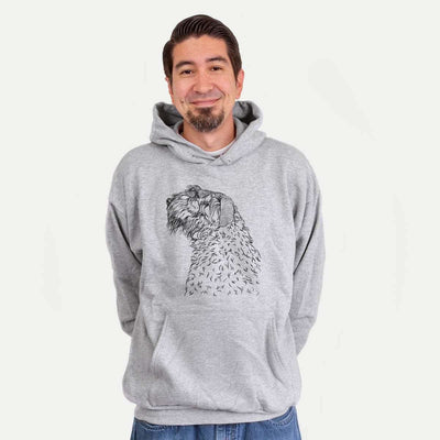 Profile Bouvier des Flandres  - Unisex Hooded Sweatshirt