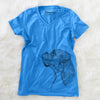 Profile Boxer  - Women's Modern Fit V-neck Shirt