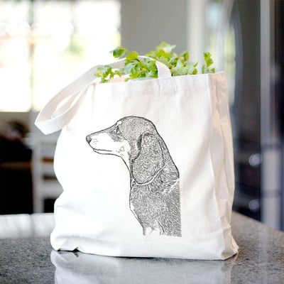 Profile Dachshund  - Tote Bag
