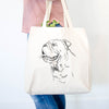 Profile English Bulldog  - Tote Bag