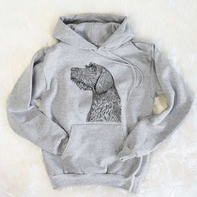 Profile German Wirehaired Pointer  - Unisex Hooded Sweatshirt