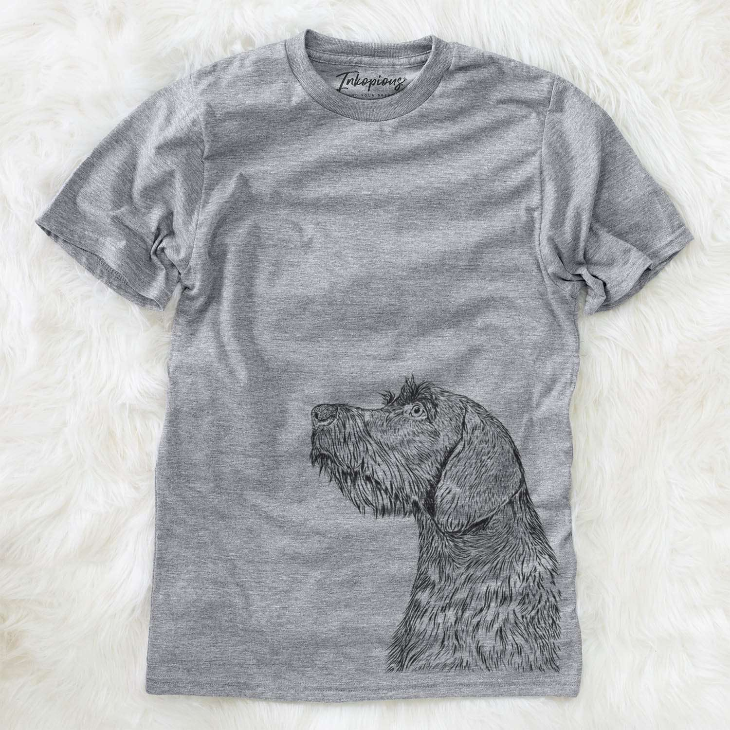 Profile German Wirehaired Pointer  - Unisex Crewneck