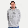 Profile Great Pyrenees  - Unisex Hooded Sweatshirt