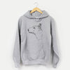 Profile Mini Bull Terrier  - Unisex Hooded Sweatshirt