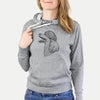 Profile Poodle  - French Terry Hooded Sweatshirt