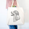 Profile Poodle  - Tote Bag