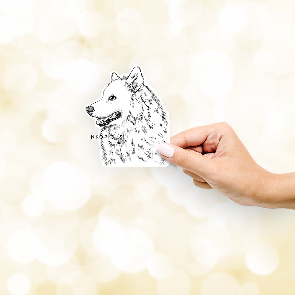 Profile Samoyed - Decal Sticker