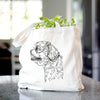 Profile Shih Tzu Puppy Cut  - Tote Bag