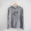 Profile West Highland Terrier  - French Terry Hooded Sweatshirt