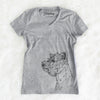 Profile West Highland Terrier  - Women's Modern Fit V-neck Shirt