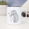 Profile Bernese Mountain Dog - 14oz Metal Mug