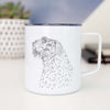 Profile Bouvier des Flandres - 14oz Metal Mug