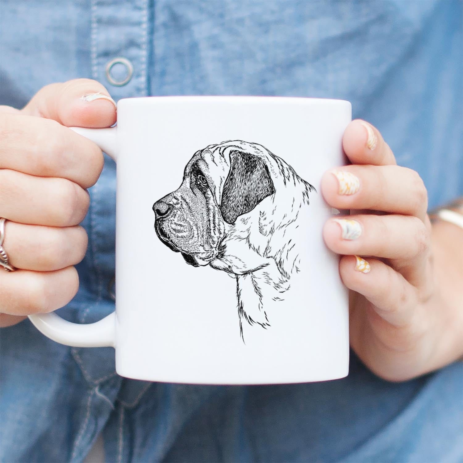 Profile English Mastiff - Mug