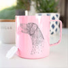 Profile German Shorthaired Pointer - 14oz Metal Mug