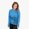 Profile German Wirehaired Pointer - Long Sleeve Crewneck
