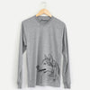 Profile Siberian Husky - Long Sleeve Crewneck