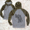 Profile Irish Setter - Unisex Raglan Zip Up Hoodie