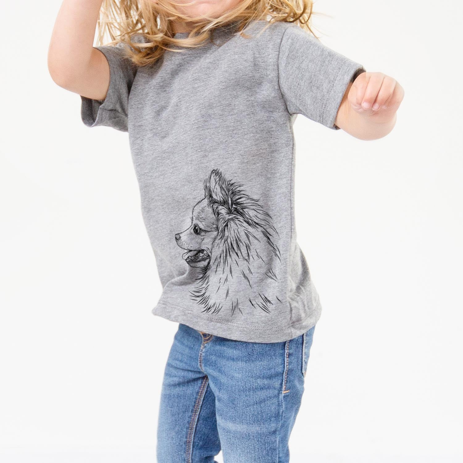 Profile Pomeranian - Kids/Youth/Toddler Shirt