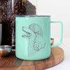 Profile Poodle - 14oz Metal Mug