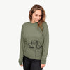 Profile Shih Tzu Puppy Coat - Long Sleeve Crewneck