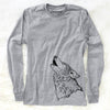 Profile Wolf - Long Sleeve Crewneck