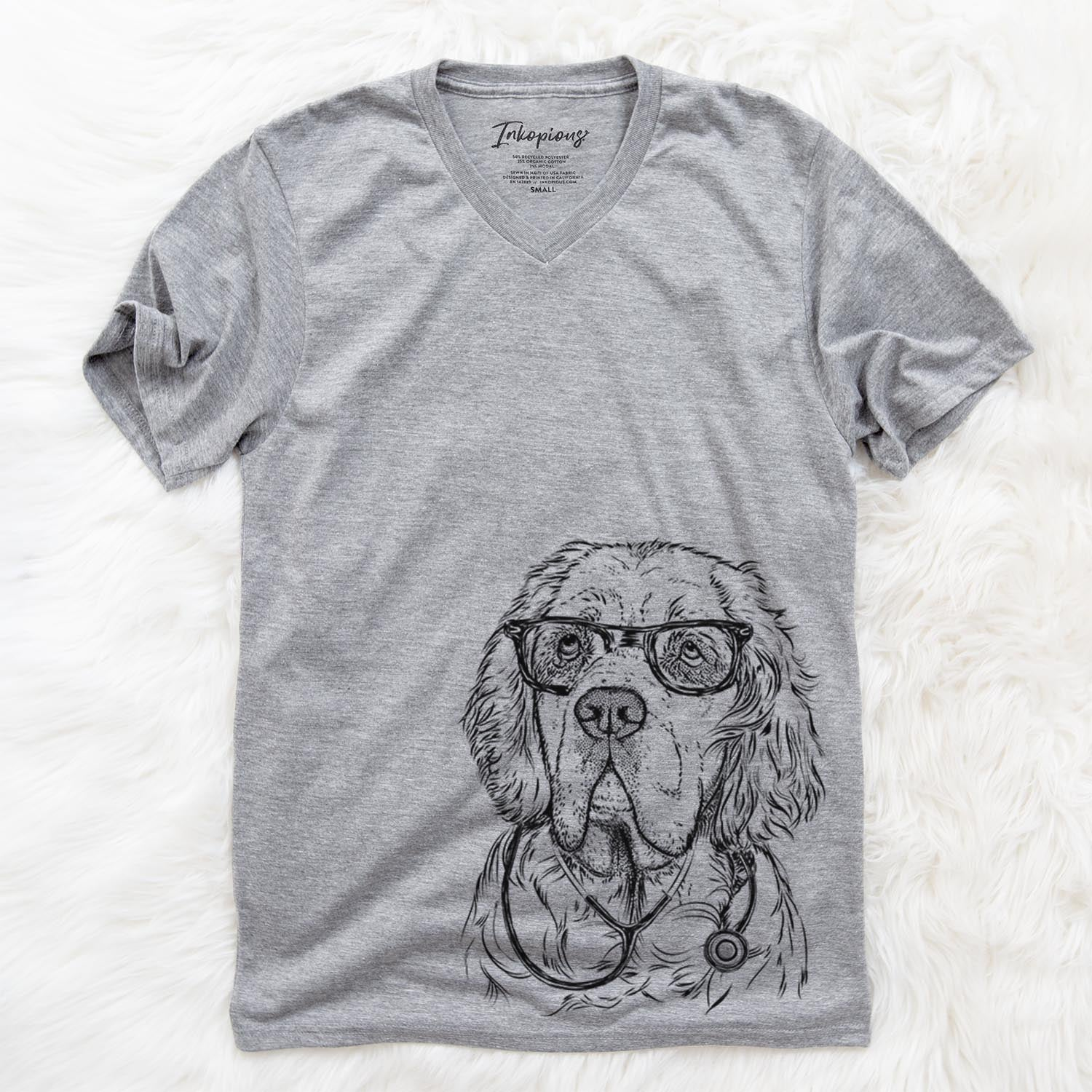 Gary the Clumber Spaniel  - Medical Collection