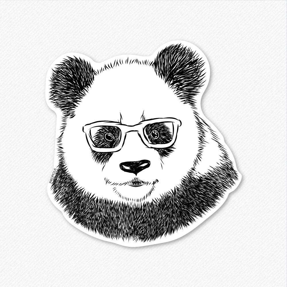Po the Panda - Decal Sticker