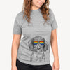 Almond the Wirehaired Dachshund  - Rainbow Collection