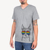 Bean the Boston Terrier  - Rainbow Collection