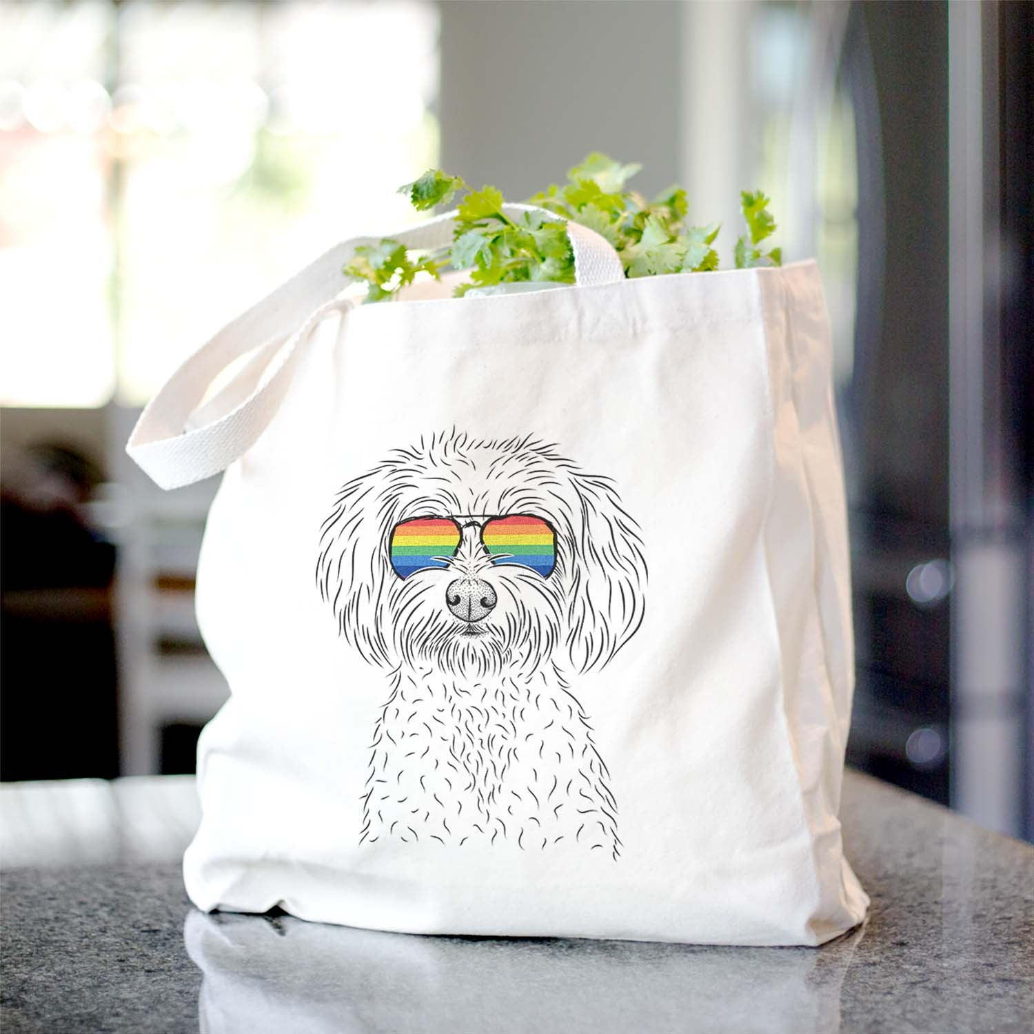Francesca the Maltipoo - Tote Bag