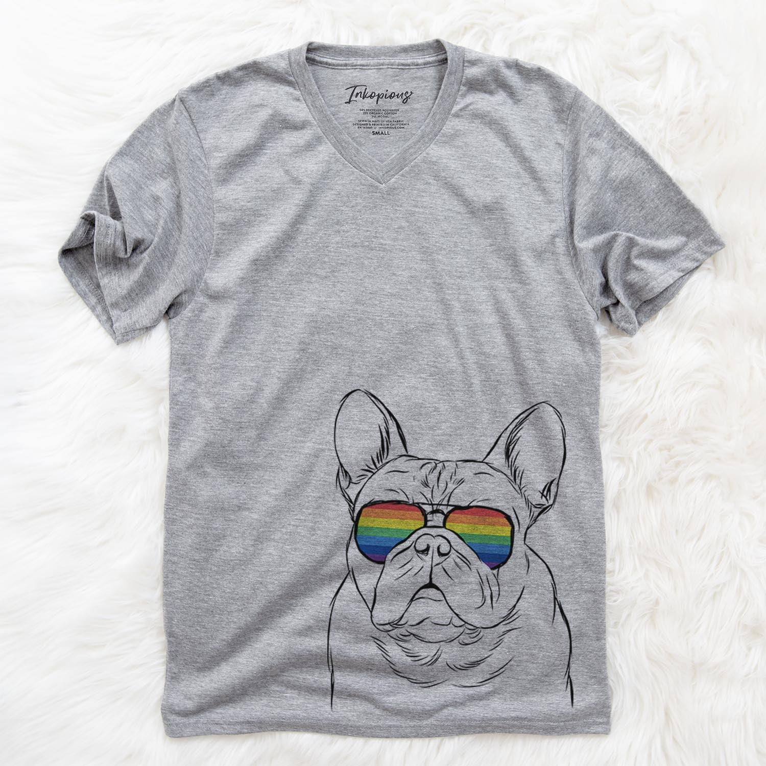 Fudge the French Bulldog  - Rainbow Collection