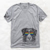 Gram the Australian Shepherd  - Rainbow Collection