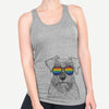 Smokey the Miniature Schnauzer  - Rainbow Collection