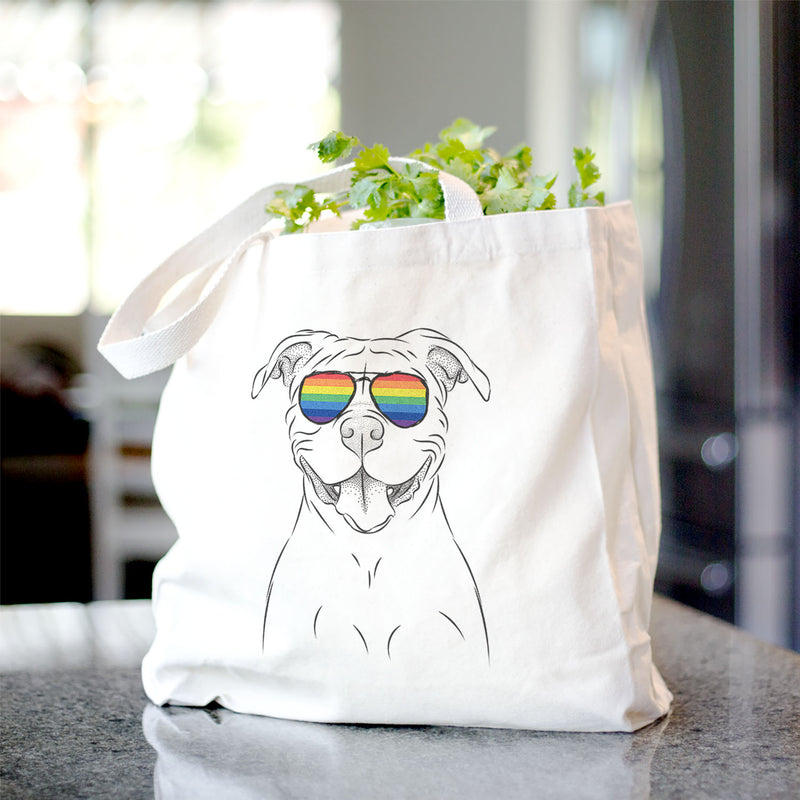 Tyson the American Bulldog - Tote Bag