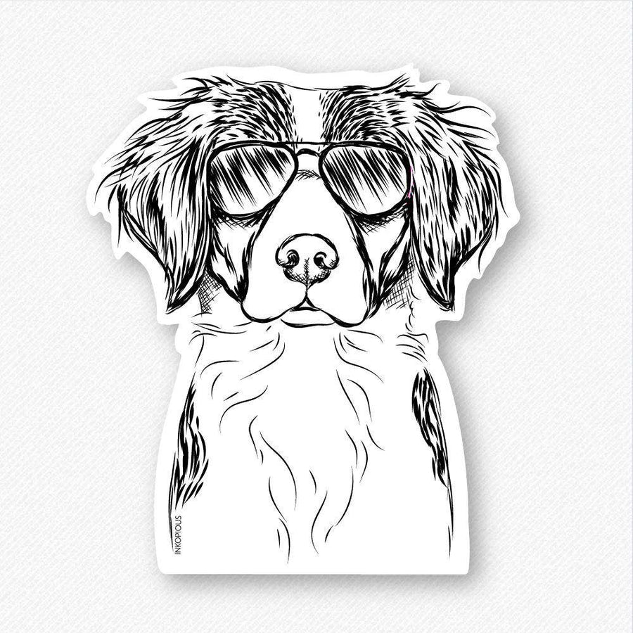 Remi the Brittany - Decal Sticker