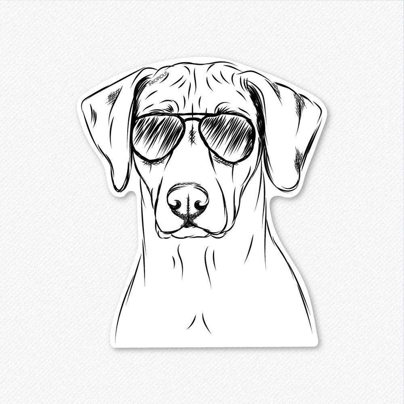 Ronan the Rhodesian Ridgeback - Decal Sticker
