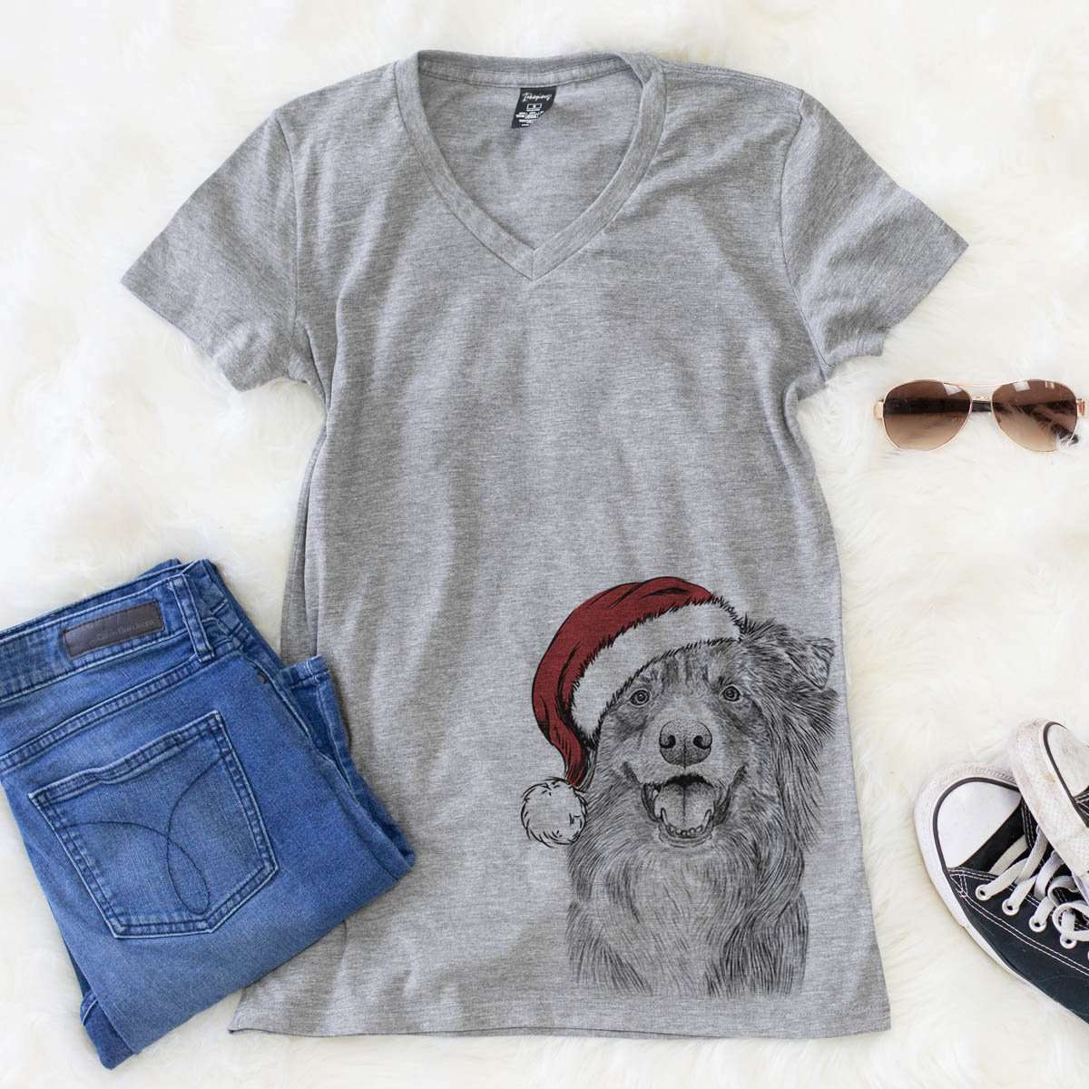 Aussie Parker the Australian Shepherd  - Christmas Collection