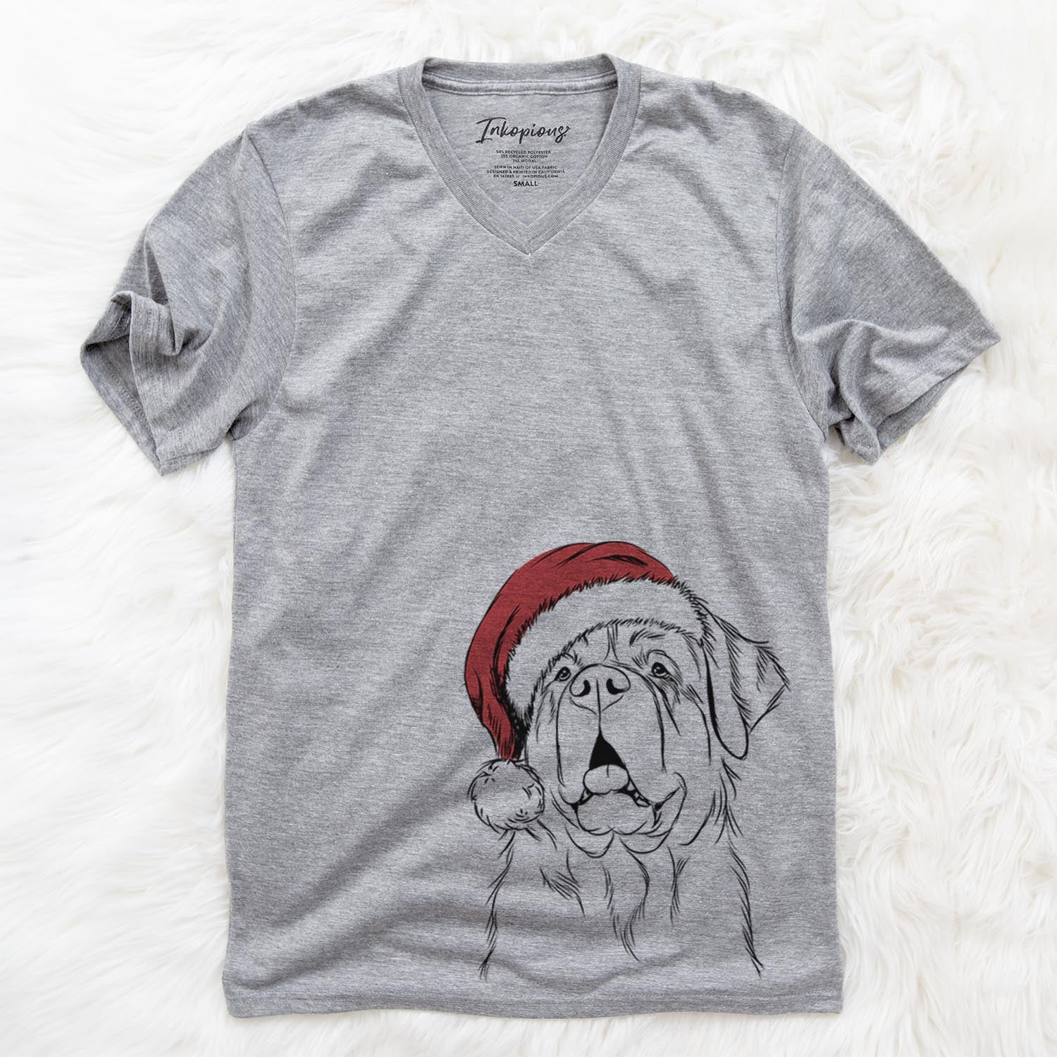 Atlas the Saint Bernard  - Christmas Collection