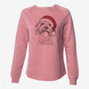 Barney the Cavachon - Cali Wave Crewneck Sweatshirt
