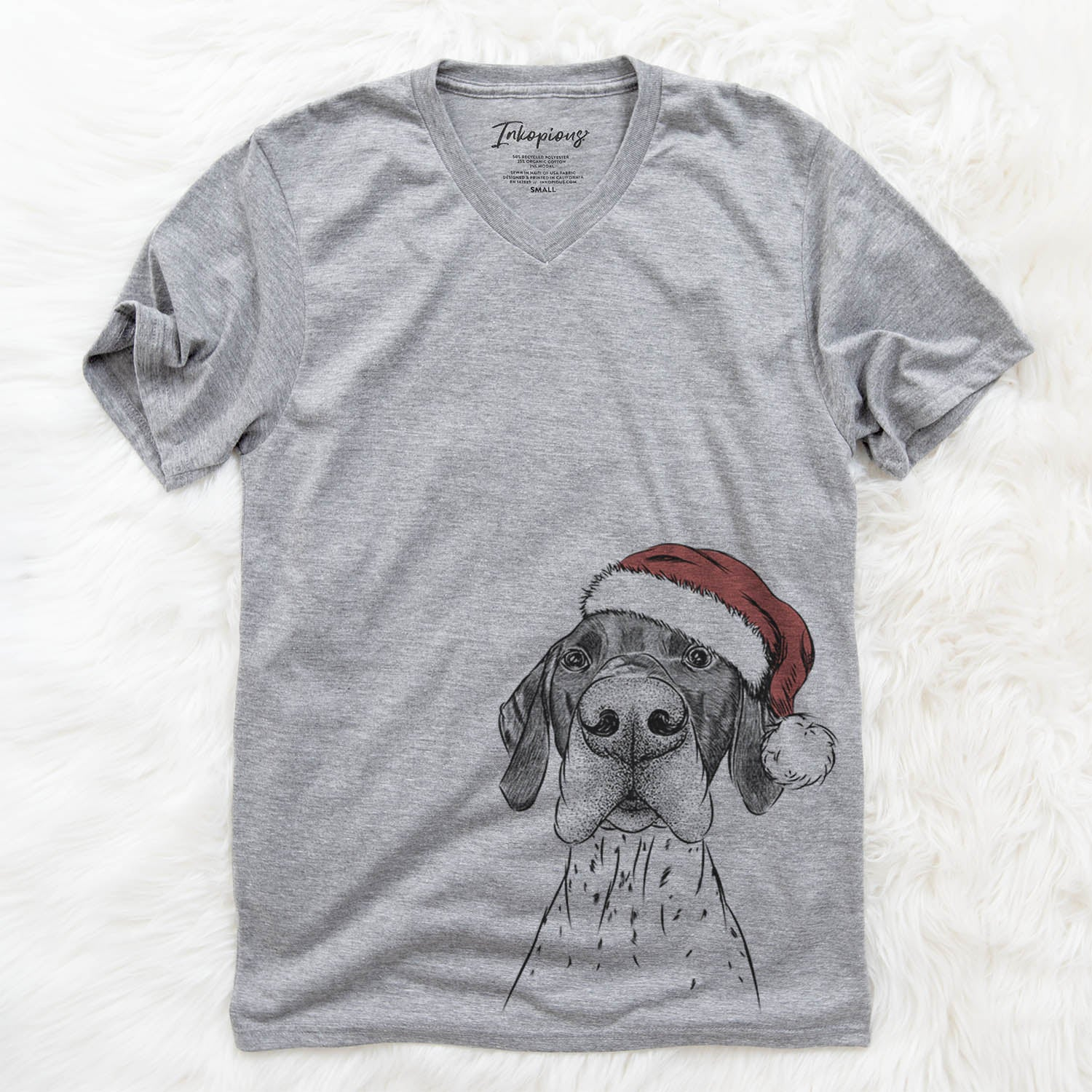Booze the German Shorthaired Pointer  - Christmas Collection