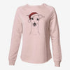 Pip the Italian Greyhound - Cali Wave Crewneck Sweatshirt