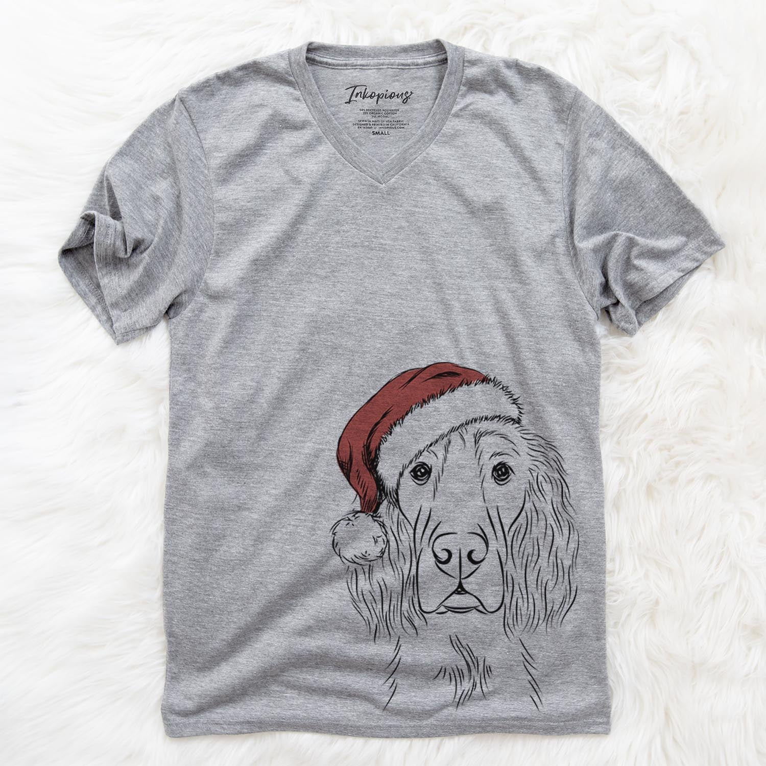 Piper the Irish Setter  - Christmas Collection