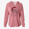 Preston the Powderpuff Chinese Crested - Cali Wave Hooded Sweatshirt