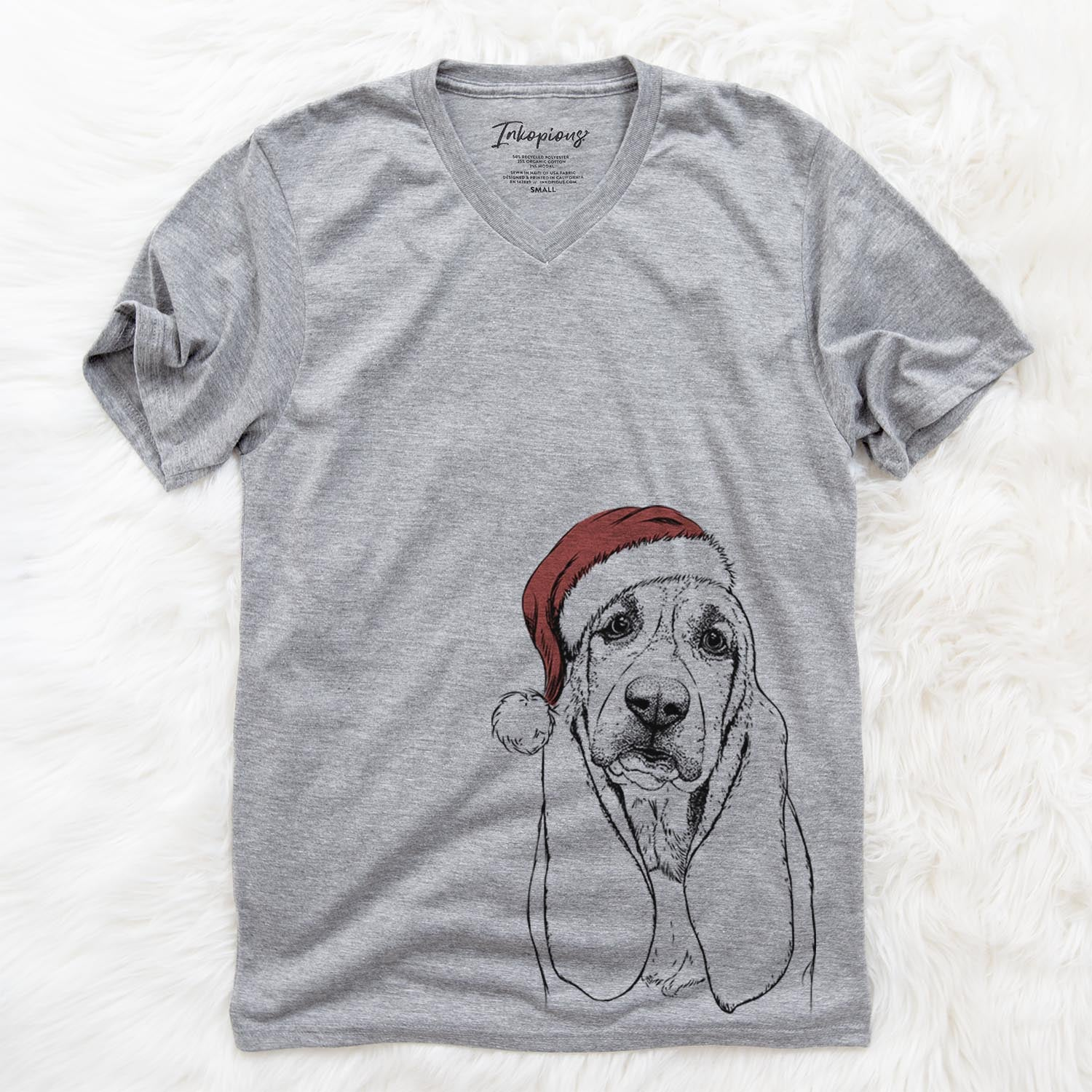 Rolo the Basset Hound  - Christmas Collection