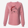 Roshi the Mixed Breed - Cali Wave Crewneck Sweatshirt