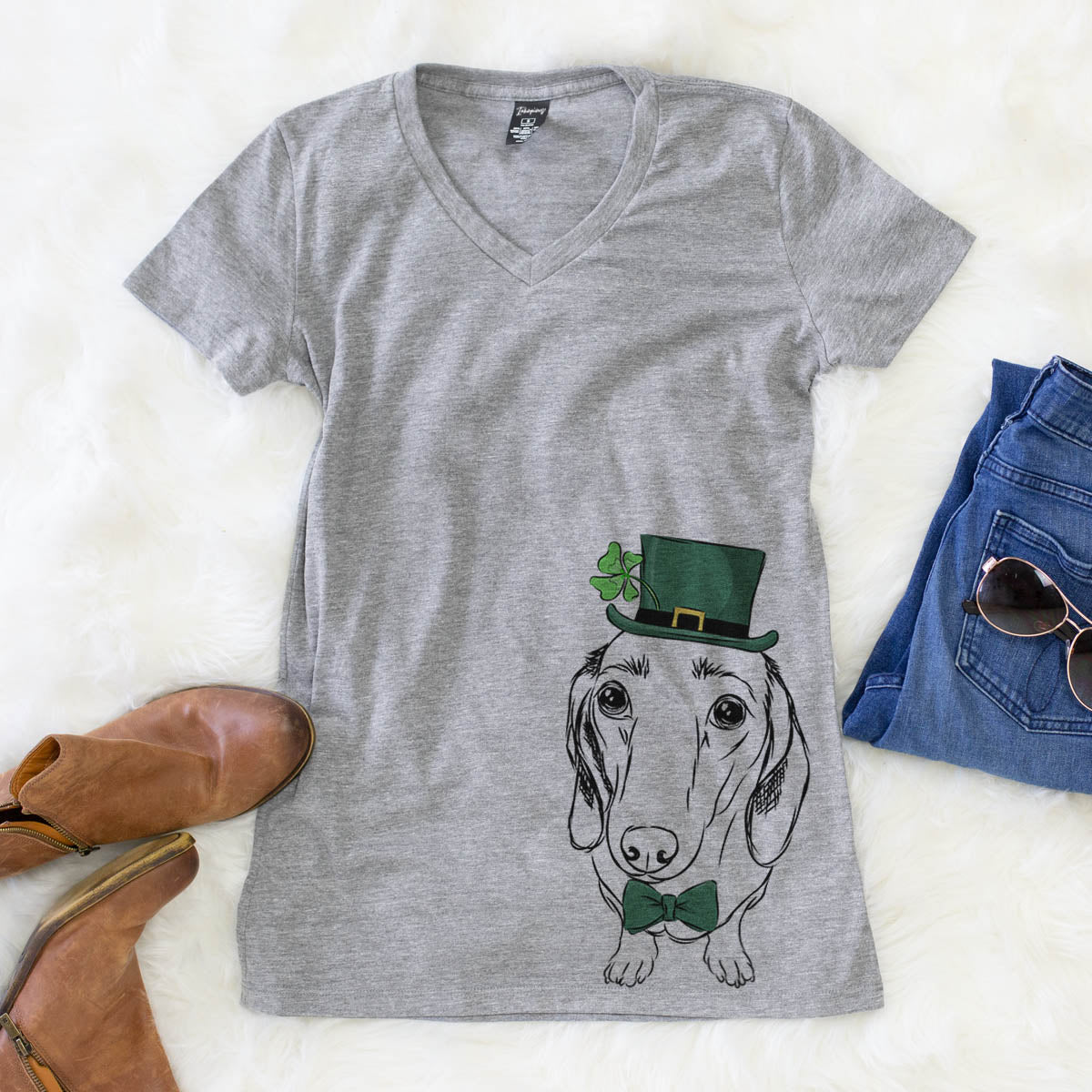Annabelle the Dachshund  - St. Patricks Collection
