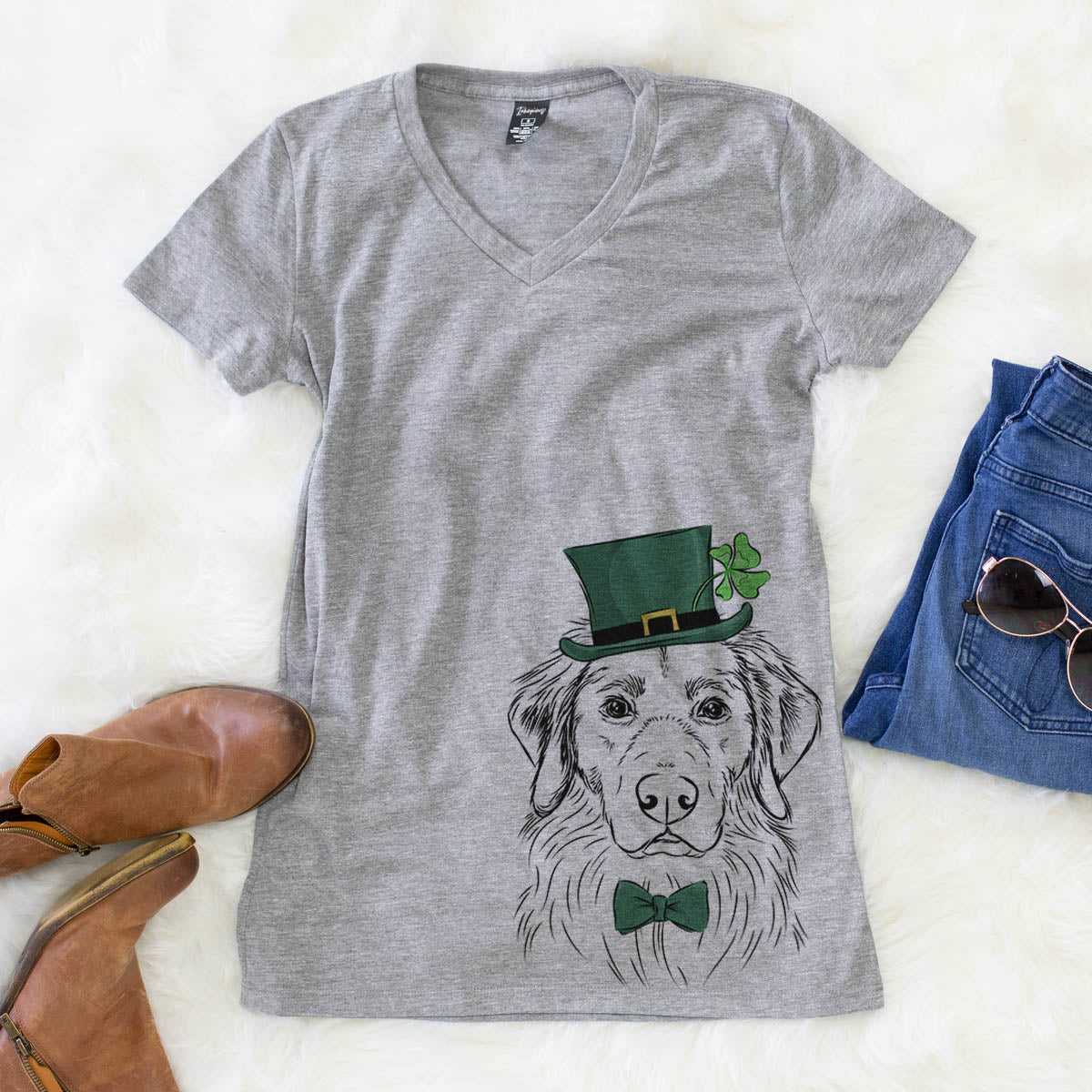 Marley the Golden Retriever  - St. Patricks Collection