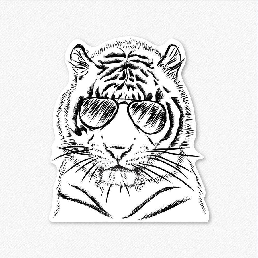 Taz the Tiger - Decal Sticker